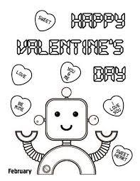 valentine color pages exprimartdesign
