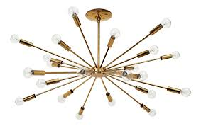 Sputnik Chandelier Superb Gino Sarfatti 24 Light Brass Sputnik Chandelier Model