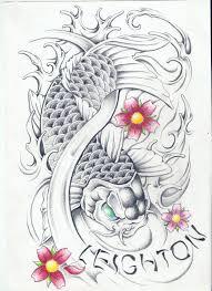 koi fish designs koi fish tattoos free