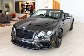 bentley garage 2018 bentley continental supersports stock 8n066797 for sale