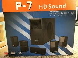 mp3 home theater amazon com paramax p 509 sound system electronics