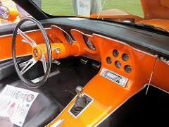 custom c3 corvette dash 1969 chevy corvette i like the way the custom dash and con flickr