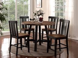 counter height dining room sets gracie oaks goodman 5 piece counter height dining set u0026 reviews