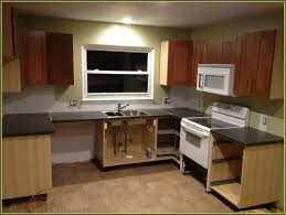 menards unfinished kitchen wall cabinets menards kitchen cabinets finished finished basement