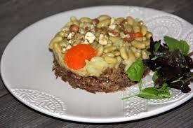 cuisiner des flageolets secs recette parmentier de canard et flageolets 750g