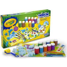 crayola painting case kids arts u0026 crafts activity couloring