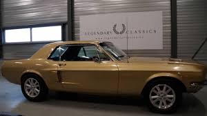 ford mustang coupe 289 manual 1968 youtube