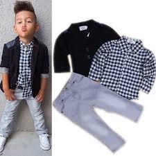 2016 brand new toddler boys clothing set 3 pcs boys clothes