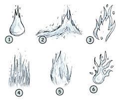 how to draw cartoon fire step 4 paint pinterest cartoon