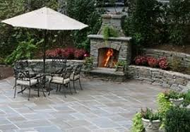 Outdoor Patio Fireplace Designs Outdoor Fireplace And Patio Pictures Great Styles And Materi Als
