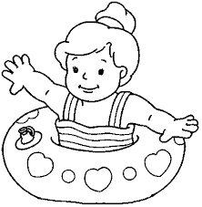 kids songs games christmas parade float coloring sheet child