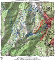 Park City Utah Map by Park City Town Loop