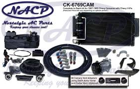 1967 camaro kit nostalgic ac 1967 1969 chevrolet camaro air conditioning kit