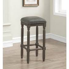 Grey Leather Bar Stool Grey Leather Bar U0026 Counter Stools Shop The Best Deals For Dec