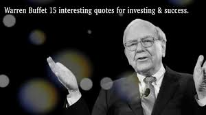 quote from warren buffett warren buffet 15 successful quotes for investing youtube