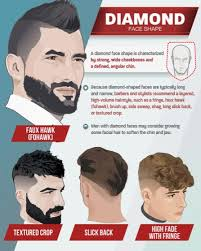 mens hair cuts for wide face top 6 best men s haircuts by face shape infographic humble rich