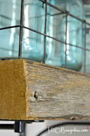 diy reclaimed wood kitchen shelves h20bungalow