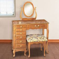 Jewelry Vanity Table Annabelle Grey Wash Oak Dressing Table Set Dunelm The French