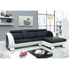 canape d angle en cuir noir photos canapé d angle cuir noir et blanc