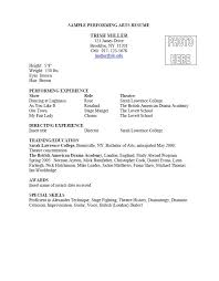 Example Of Artist Resume by 38 Best Arts Resume Portfolio List Images On Pinterest Resume