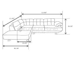 Standard Sofa Size by Nicole L Shaped Sofa U2013 Furniture Manila Philippines