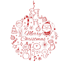 merry christmas l post merry christmas post card template vector illustration stock