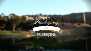 working thanksgiving law happy thanksgiving from pepperdine university youtube