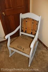 the rescued rocking chair how to reupholster a chair tutorial