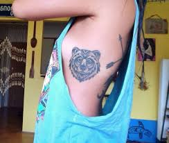 nice tribal bear tattoo designs creativefan
