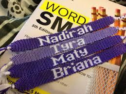 make bracelet with name images Names friendship bracelets jpg