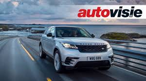 land rover velar 2017 review range rover velar 2017 by autovisie tv youtube