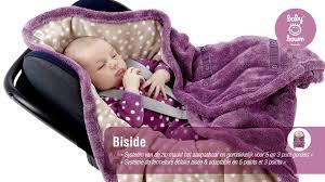 couverture siège auto bébé couverture pour siège auto biside de babyboum