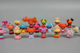 free shipping 30pcs lot mini lalaloopsy mini doll ornaments bulk