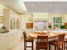 Curved Island Kitchen Designs New England Classic Kitchen Style With Curved Kitchen Island Playuna