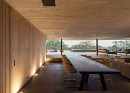 Brazilian Interior Design by Rooftop Infinity Pool Overlooks The Brazilian Rainforest From