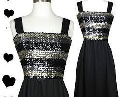 vintage dress 70 s slinky 70s disco dress etsy