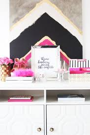 Chic Home Office Desk Best 20 Chic Office Decor Ideas On Pinterest Gold Office Gold