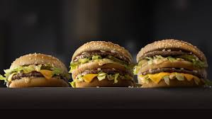 fast cuisine big mac mcdonald s introduces grand mac and mac jr sizes at southern