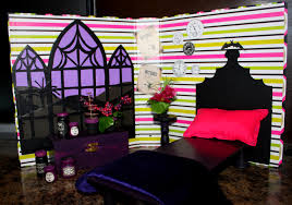 Monster High Doll House Furniture Ultra Podge Dollhouse Playset Binder Supreme Not Molly