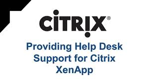 Citrix Help Desk by This Course Is Designed Primarily For It Professionals And