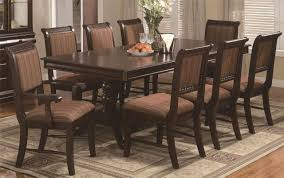 oak dining set 8 chairs oak dining room table and 8 chairs