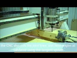 how to make a curved handrail on a cnc with rotary axis youtube