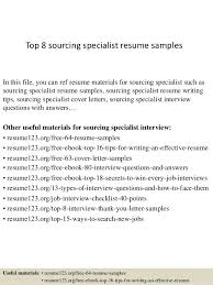 resume samples for procurement specialist professional resumes