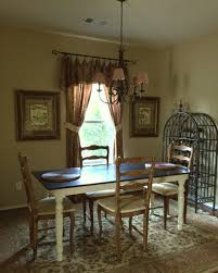 Dining Room Valance How To Sew A Super Fancy Drop Cloth Valance The Purple Hydrangea
