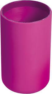 Plastic Bathroom Tumbler Vanity Bathroom Tumbler Soft Touch Design Pink Fuchsia