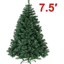 christmas tree artificial classic pine unlit christmas tree home kitchen