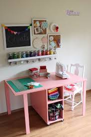 Small Craft Desk Craft Desk Colorful Crafting Table Tables And