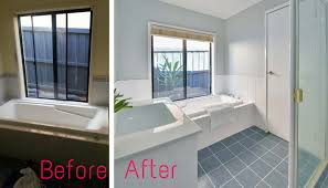bathroom tile paint ideas my experience renovating with tile paint gee you re brave