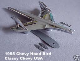 1955 chevrolet bel air ornament chrome