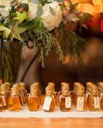 maple syrup wedding favors 34 festive fall wedding favor ideas martha stewart weddings